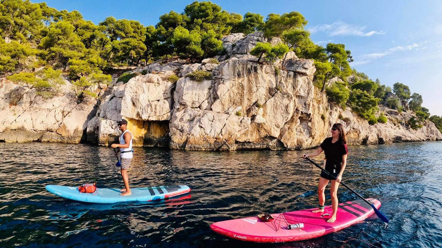 Stand Up Paddle - Calanque de Port Miou