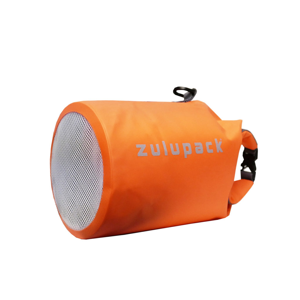 Sac étanche Zulupack Tube 3L  orange
