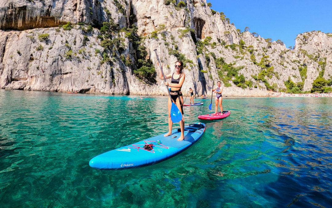Le Stand Up Paddle et le Canoë-Kayak interdit de fait dans le Parc National des Calanques !
